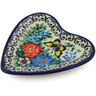 3-inch Stoneware Tea Bag or Lemon Plate - Polmedia Polish Pottery H6763J