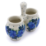 3-inch Stoneware Toothpick Holder - Polmedia Polish Pottery H1213J