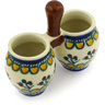3-inch Stoneware Toothpick Holder - Polmedia Polish Pottery H5786E