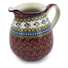 30 oz Stoneware Pitcher - Polmedia Polish Pottery H0373B