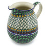 30 oz Stoneware Pitcher - Polmedia Polish Pottery H2312E