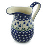 30 oz Stoneware Pitcher - Polmedia Polish Pottery H3431I