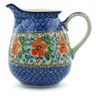 30 oz Stoneware Pitcher - Polmedia Polish Pottery H5221B