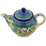 30 oz Stoneware Tea or Coffee Pot - Polmedia Polish Pottery H0378G