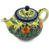 30 oz Stoneware Tea or Coffee Pot - Polmedia Polish Pottery H2444H