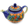 30 oz Stoneware Tea or Coffee Pot - Polmedia Polish Pottery H2475F
