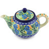 30 oz Stoneware Tea or Coffee Pot - Polmedia Polish Pottery H3270G