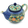 30 oz Stoneware Tea or Coffee Pot - Polmedia Polish Pottery H4843H
