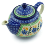 30 oz Stoneware Tea or Coffee Pot - Polmedia Polish Pottery H4857A