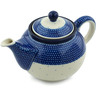 30 oz Stoneware Tea or Coffee Pot - Polmedia Polish Pottery H5358B