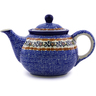 30 oz Stoneware Tea or Coffee Pot - Polmedia Polish Pottery H9667H