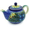 30 oz Stoneware Tea or Coffee Pot - Polmedia Polish Pottery H9984E