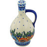 34 oz Stoneware Bottle - Polmedia Polish Pottery H0990H