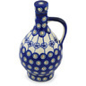 34 oz Stoneware Bottle - Polmedia Polish Pottery H0991H