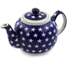 34 oz Stoneware Tea or Coffee Pot - Polmedia Polish Pottery H3298D