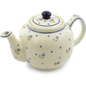 34 oz Stoneware Tea or Coffee Pot - Polmedia Polish Pottery H4671C
