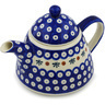 39 oz Stoneware Tea or Coffee Pot - Polmedia Polish Pottery H0619H