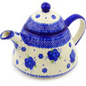 39 oz Stoneware Tea or Coffee Pot - Polmedia Polish Pottery H2375F