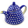 39 oz Stoneware Tea or Coffee Pot - Polmedia Polish Pottery H2376F