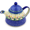 39 oz Stoneware Tea or Coffee Pot - Polmedia Polish Pottery H3735E