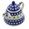39 oz Stoneware Tea or Coffee Pot - Polmedia Polish Pottery H8795E