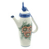 39 oz Stoneware Tea or Coffee Pot - Polmedia Polish Pottery H9432H