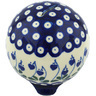 4-inch Stoneware Ball Piggy Bank - Polmedia Polish Pottery H0217G