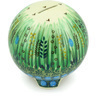 4-inch Stoneware Ball Piggy Bank - Polmedia Polish Pottery H5200G