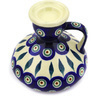 4-inch Stoneware Candle Holder - Polmedia Polish Pottery H0190E