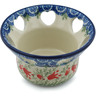 4-inch Stoneware Candle Holder - Polmedia Polish Pottery H0200I