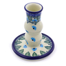 4-inch Stoneware Candle Holder - Polmedia Polish Pottery H0727I