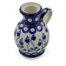 4-inch Stoneware Candle Holder - Polmedia Polish Pottery H1174B