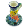 4-inch Stoneware Candle Holder - Polmedia Polish Pottery H2228B