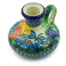4-inch Stoneware Candle Holder - Polmedia Polish Pottery H3239G