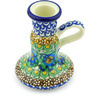 4-inch Stoneware Candle Holder - Polmedia Polish Pottery H3306G