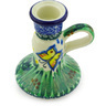 4-inch Stoneware Candle Holder - Polmedia Polish Pottery H5364G