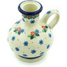 4-inch Stoneware Candle Holder - Polmedia Polish Pottery H5368H