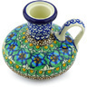 4-inch Stoneware Candle Holder - Polmedia Polish Pottery H5662G