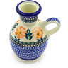 4-inch Stoneware Candle Holder - Polmedia Polish Pottery H5827E