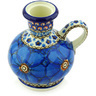 4-inch Stoneware Candle Holder - Polmedia Polish Pottery H6455G
