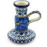 4-inch Stoneware Candle Holder - Polmedia Polish Pottery H6604G