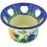 4-inch Stoneware Candle Holder - Polmedia Polish Pottery H6905G