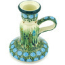 4-inch Stoneware Candle Holder - Polmedia Polish Pottery H6935G