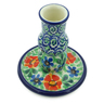 4-inch Stoneware Candle Holder - Polmedia Polish Pottery H7717I