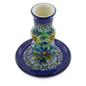 4-inch Stoneware Candle Holder - Polmedia Polish Pottery H8482F