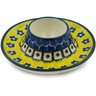 4-inch Stoneware Egg Holder - Polmedia Polish Pottery H9002H