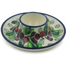 4-inch Stoneware Egg Holder - Polmedia Polish Pottery H9003H