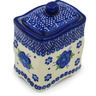 4-inch Stoneware Jar with Lid - Polmedia Polish Pottery H0969H