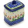 4-inch Stoneware Jar with Lid - Polmedia Polish Pottery H1012H