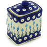 4-inch Stoneware Jar with Lid - Polmedia Polish Pottery H1288H
